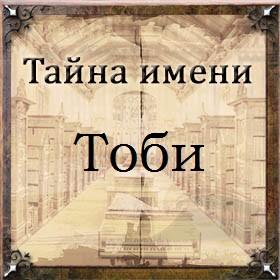 Тайна имени Тоби